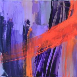 """Évolution (16 x 24"""") Acrylic on canvas🔴"""