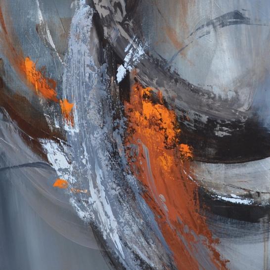 """Sérénité (36 po x 24"""") Acrylic on canvas🔴"""