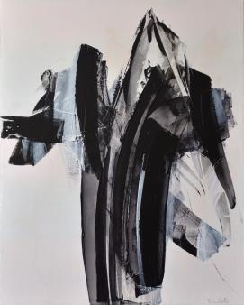 Entre 2 (30 x 24 po) Disponible à la galerie d'art Pauline Paquin