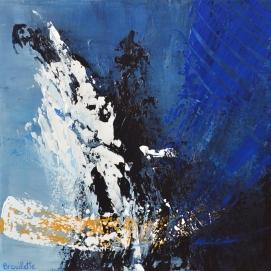 """Ensemble (16 x 16"""") Acrylic on canvas🔴"""