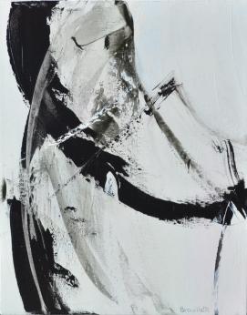 Ying-Yang I (20 x 16 po) Disponible à l'atelier de l'artiste