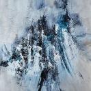 Neige éternelle (40 x 30 po) Disponible à Claremont Art UK