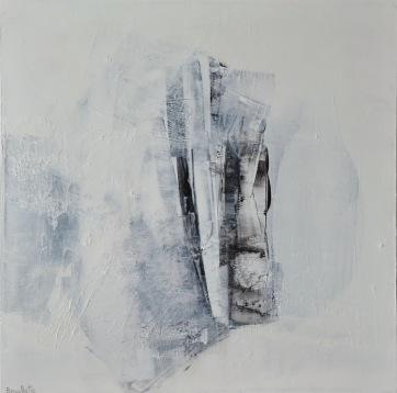 Paix intérieur (24 x 24 po) Disponible à la galerie d'art Pauline T. Paquin