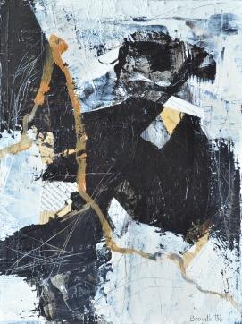 Phénix II (12 x 16 po) Disponible à la galerie d'art Pauline Paquin