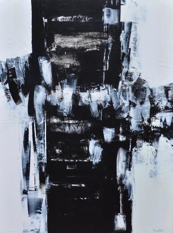 Entre nous 2 (I) (48 x 36 po) Disponible à la galerie Le Bourget