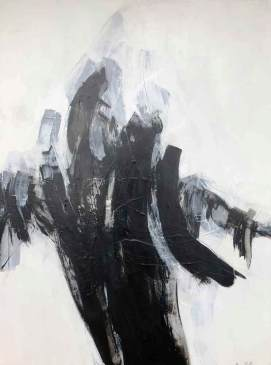 Entre nous 2 (III) 48 x 36 Disponible à la galerie 806 Mont Tremblant