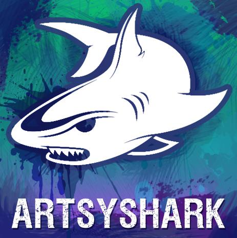 artsyshark4-logo4